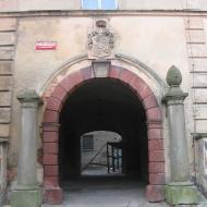 bobolice-palac-portal