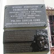 krzyzanowice-palac-tablica