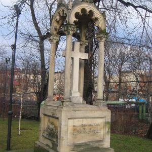 gliwice-kosciol-sw-barbary-pomnik