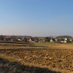 poniszowice-widok