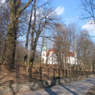 kamieniec-palac-park