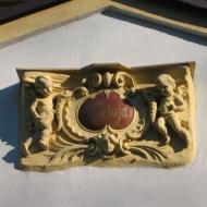 olesno-kosciol-bozego-ciala-kaplica-emblemat