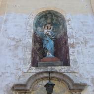 pelcznica-kosciol-portal-figura