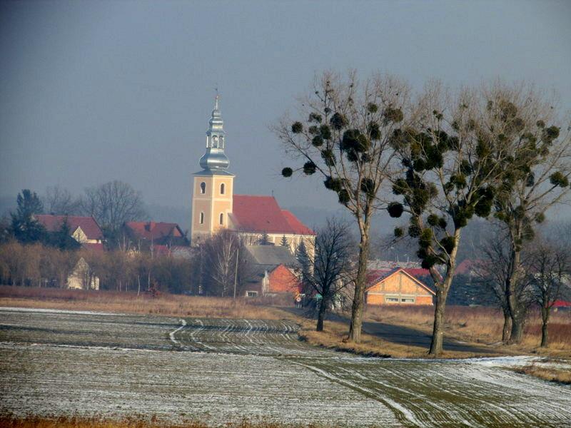 Szlak zielony Miękinia – Święte - Środa Śląska
